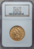 Liberty Eagles: , 1892-S $10 MS61 NGC. NGC Census: (73/108). PCGS Population(60/135). Mintage: 115,500. Numismedia Wsl. Price for problem fr...
