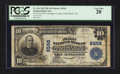 National Bank Notes:Colorado, Castle Rock, CO - $10 1902 Plain Back Fr. 624 The First NB ofDouglas County at Castle Rock Ch. # 6556. ...