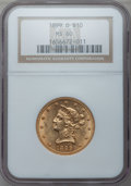 Liberty Eagles: , 1899-O $10 MS60 NGC. NGC Census: (24/76). PCGS Population (18/104).Mintage: 37,047. Numismedia Wsl. Price for problem free...