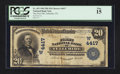 National Bank Notes:Colorado, Telluride, CO - $20 1902 Plain Back Fr. 653 The First NB Ch. # (W)4417. ...
