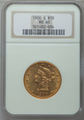 Liberty Eagles: , 1900-S $10 MS60 NGC. NGC Census: (13/53). PCGS Population (23/74).Mintage: 81,000. Numismedia Wsl. Price for problem free ...