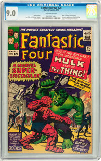 Fantastic Four #25 (Marvel, 1964) CGC VF/NM 9.0 Off-white pages