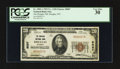 National Bank Notes:Wyoming, Douglas, WY - $20 1929 Ty. 1 The Douglas NB Ch. # 8087. ...