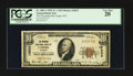 National Bank Notes:Wyoming, Casper, WY - $10 1929 Ty. 1 The Wyoming NB Ch. # 10533. ...