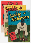 Golden Age (1938-1955):Non-Fiction, Jackie Robinson #3-6 Group (Fawcett, 1949-50) Condition: AverageVG-.... (Total: 4 Items)