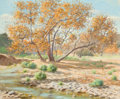 Fine Art - Painting, American:Modern  (1900 1949)  , FLOYD COPELAND CHANDLER (American, 1920-1995). High DesertLandscape. Oil on canvas . 20 x 24 inches (50.8 x 61.0 cm).S...