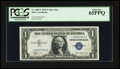 Small Size:Silver Certificates, Fr. 1607* $1 1935 Silver Certificate. PCGS Gem New 65PPQ.. ...