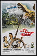 "Movie Posters:Fantasy, The 7th Voyage of Sinbad (Columbia, R-1975). One Sheet (27"" X 41"") Style B. Adventure. Starring Kerwin Mathews, Kathryn Gran..."