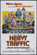 "Movie Posters:Animated, Heavy Traffic (AIP, 1973). One Sheet (27"" X 41""). Animated Comedy.Starring Joseph Kaufmann, Beverly Hope Atkinson, Frank De..."