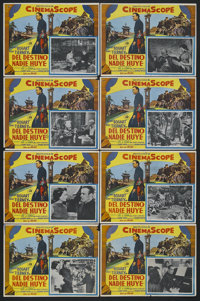"""The Left Hand of God (20th Century Fox, 1955). Mexican Lobby Card Set of 8 (12.5"""" X 16.25""""). Drama. Starring H..."""