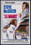 "Movie Posters:Action, Le Mans (National General, 1971). Australian One Sheet (27"" X 40""). Sports Drama. Starring Steve McQueen, Siegfried Rauch, E..."