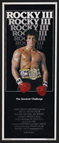 """Movie Posters:Sports, Rocky III (United Artists, 1982). Insert (14"""" X 36""""). Sports Drama. Starring Sylvester Stallone, Carl Weathers, Talia Shire ..."""