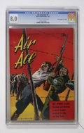 """Golden Age (1938-1955):War, Air Ace V2#1 Davis Crippen (""""D"""" Copy) pedigree (Street & Smith,1944) CGC VF 8.0 Off-white to white pages...."""