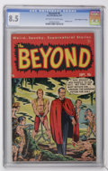 "Golden Age (1938-1955):Horror, The Beyond #6 Davis Crippen (""D"" Copy) pedigree (Ace, 1951) CGC VF+8.5 Off-white to white pages...."
