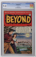 "Golden Age (1938-1955):Horror, The Beyond #8 Davis Crippen (""D"" Copy) pedigree (Ace, 1952) CGCVF/NM 9.0 White pages...."