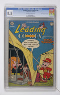 "Golden Age (1938-1955):Funny Animal, Leading Screen Comics #45 Davis Crippen (""D"" Copy) pedigree (DC,1950) CGC VF+ 8.5 Off-white to white pages...."