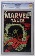 Golden Age (1938-1955):Science Fiction, Marvel Tales #156 White Mountain pedigree (Atlas, 1957) CGC FN/VF7.0 Off-white to white pages....
