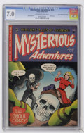"Golden Age (1938-1955):Horror, Mysterious Adventures #15 Davis Crippen (""D"" Copy) pedigree (StoryComics, 1953) CGC FN/VF 7.0 Off-white to white pages...."