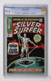 The Silver Surfer #1 (Marvel, 1968) CGC NM- 9.2 Off-white to white pages