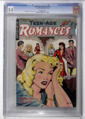 Golden Age (1938-1955):Romance, Teen-Age Romances #13 (St. John, 1950) CGC VG- 3.5 Off-whitepages....