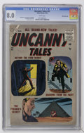 Silver Age (1956-1969):Horror, Uncanny Tales #41 White Mountain pedigree (Atlas, 1956) CGC VF 8.0White pages....