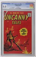 Silver Age (1956-1969):Horror, Uncanny Tales #48 White Mountain pedigree (Atlas, 1956) CGC VF 8.0White pages....