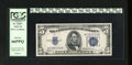 Small Size:Silver Certificates, Fr. 1653* $5 1934C Silver Certificate Star. PCGS Gem New 66PPQ.. This Star flirts with the assigment of an even higher grade...