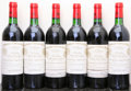 Red Bordeaux, Chateau Cheval Blanc 1982 . St. Emilion. 3bn, 1ltl. Bottle(6). ... (Total: 6 Btls. )