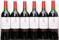 Red Bordeaux, Chateau Latour 1986 . Pauillac. 1tsl. Bottle (6). ...(Total: 6 Btls. )