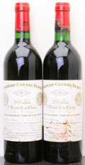 Red Bordeaux, Chateau Cheval Blanc 1982 . St. Emilion. 1lbsl, 1wisl, 1tc,2sdc. Bottle (2). ... (Total: 2 Btls. )