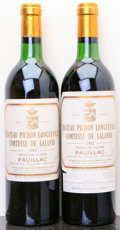 Red Bordeaux, Chateau Pichon Lalande 1982 . Pauillac. 1bn, 1ts, 1lbsl.Bottle (2). ... (Total: 2 Btls. )