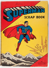 Superman Scrap Book #1503 (Saalfield Publishing Co., 1940) Condition: GD