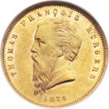South Africa, South Africa: Republic gold Burgers Pond 1874,...