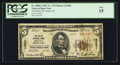 National Bank Notes:Pennsylvania, Delta, PA - $5 1929 Ty. 2 The Delta NB Ch. # 14201. ...