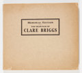 Memorabilia:Comic-Related, Memorial Edition: The Drawings of Clare Briggs (Wm. H. Wise & Co., 1930) Condition: FN-....