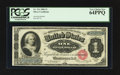 Large Size:Silver Certificates, Fr. 216 $1 1886 Silver Certificate PCGS Very Choice New 64PPQ.. ...