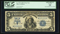 Large Size:Silver Certificates, Fr. 279* $5 1899 Silver Certificate Star PCGS Apparent Very Fine 25.. ...