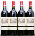 Red Bordeaux, Chateau Lafite Rothschild 1996 . Pauillac. 1lbsl. Bottle(4). ... (Total: 4 Btls. )