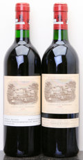 Red Bordeaux, Chateau Lafite Rothschild 1990 . Pauillac. Bottle (2). ...(Total: 2 Btls. )