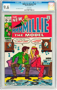 Millie the Model #180 (Marvel, 1970) CGC NM+ 9.6 White pages