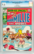 Bronze Age (1970-1979):Humor, Millie the Model Annual #9 (Marvel, 1970) CGC NM+ 9.6 Whitepages....