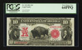 Large Size:Legal Tender Notes, Fr. 119 $10 1901 Legal Tender PCGS Very Choice New 64PPQ.. ...