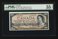 "Canadian Currency: , BC-35a $100 1954 ""Devil's Face"". ..."
