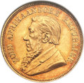 South Africa, South Africa: Republic gold Pond 1892,...