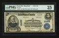 National Bank Notes:Maryland, Perryville, MD - $5 1902 Plain Back Fr. 606 The NB of PerryvilleCh. # 11193. ...