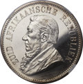 South Africa, South Africa: Republic Proof 5 Shillings 1892,...
