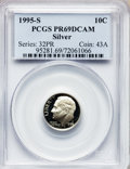 Proof Roosevelt Dimes: , 1995-S 10C Silver PR69 Deep Cameo PCGS. PCGS Population (1887/81).Numismedia Wsl. Price for problem fr...