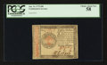 Colonial Notes:Continental Congress Issues, Continental Currency January 14, 1779 $80 PCGS Choice About New58.. ...
