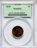 Proof Indian Cents, 1906 1C PR66 Red PCGS....