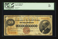 Large Size:Gold Certificates, Fr. 1174 $20 1882 Gold Certificate PCGS Fine 15.. ...